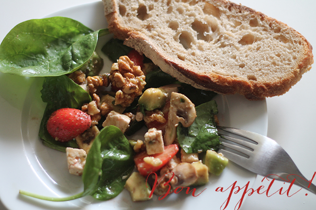 Bon appétit - Strawberry Salad