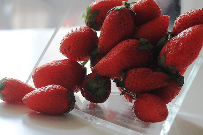 les fraises - Strawberry Salad