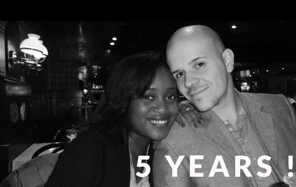 5 ans de mariage - Let's Talk About blog