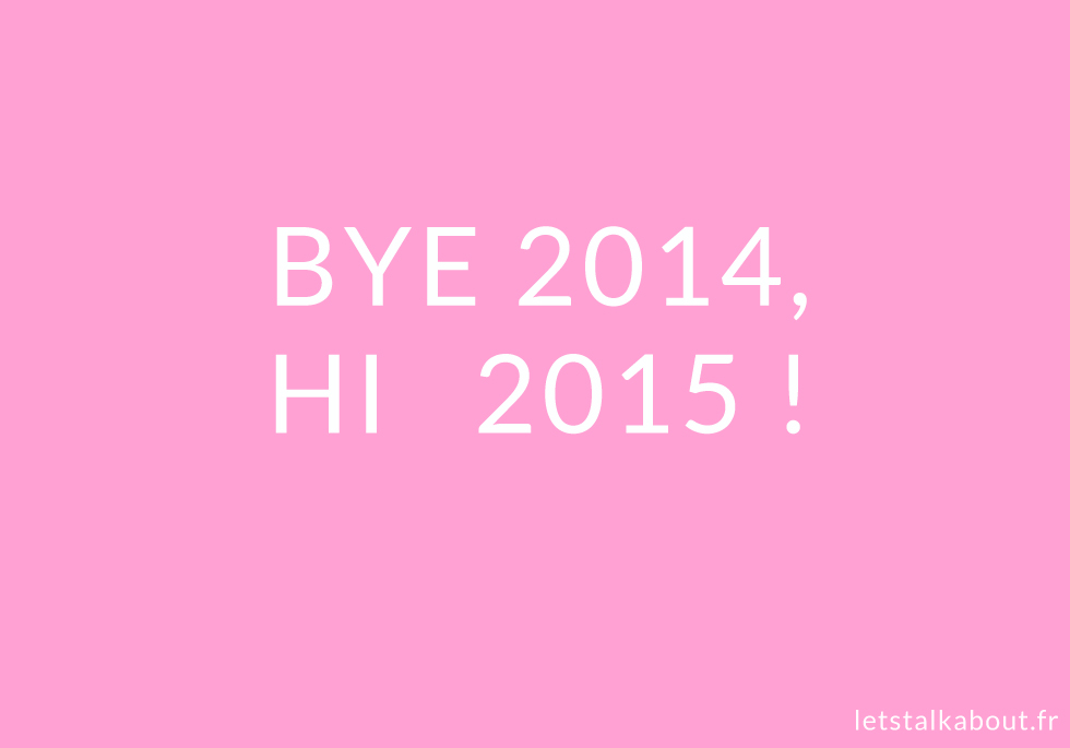 Best of 2014 - Let's Talk About blog