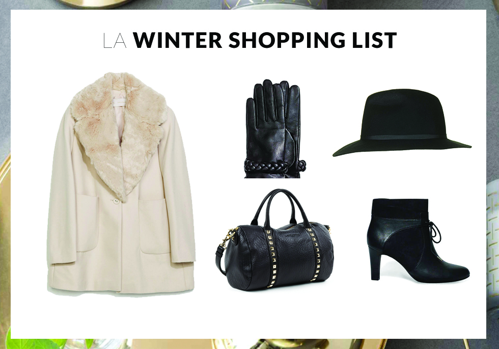 winter shopping list - lets talk about