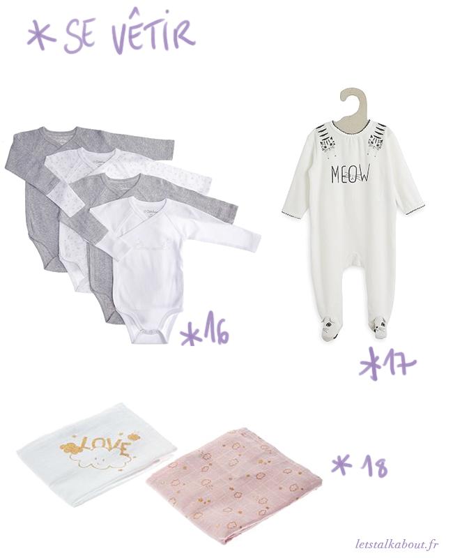 se-vêtir-les-essentiels-de-bébé
