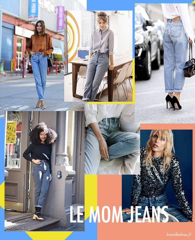 mom jeans, casual, chic, jeans