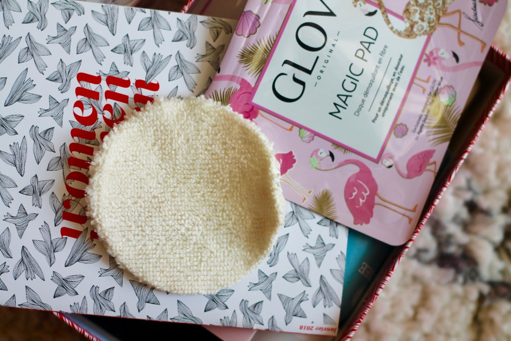 hydro démaquillage - glov - birchbox - box - magic pad - let's talk about blog - sarah pinto