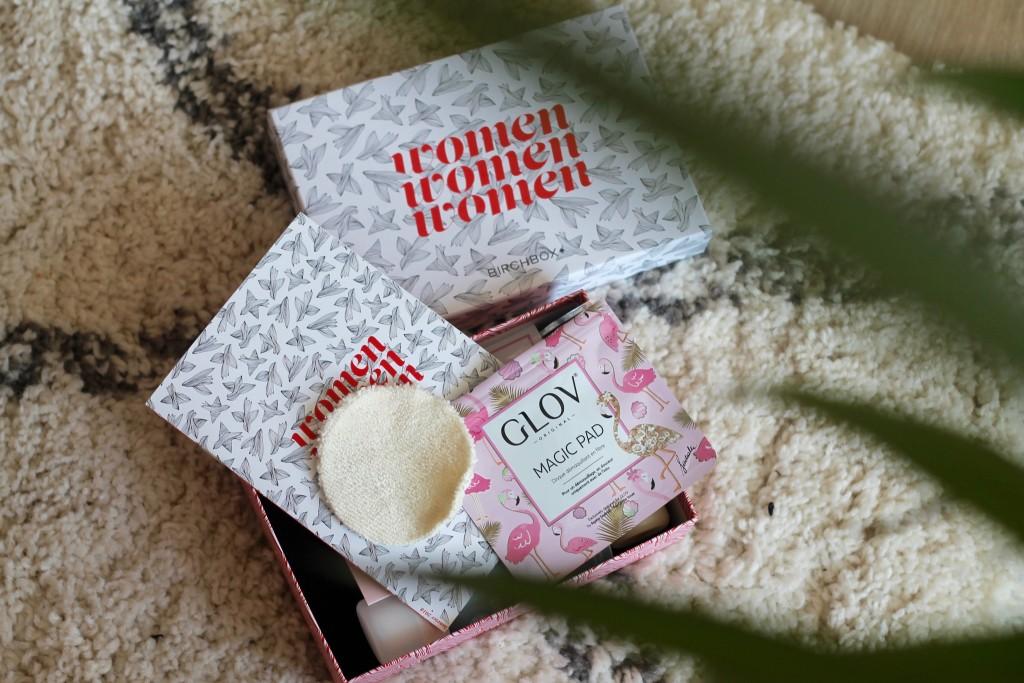 hydro démaquillage - glov - birchbox - box - magic pad - let's talk about blog - sarah pinto